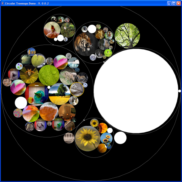 circular treemaps - screenshot 1