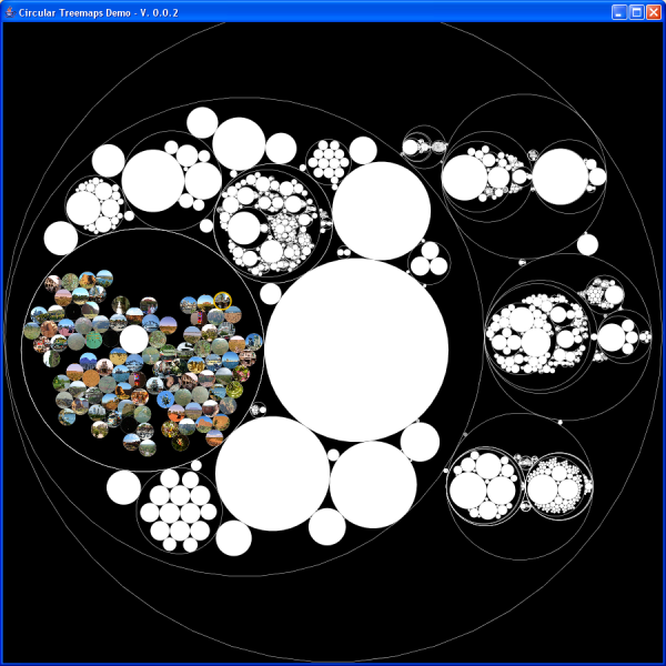 circular treemaps - screenshot 2